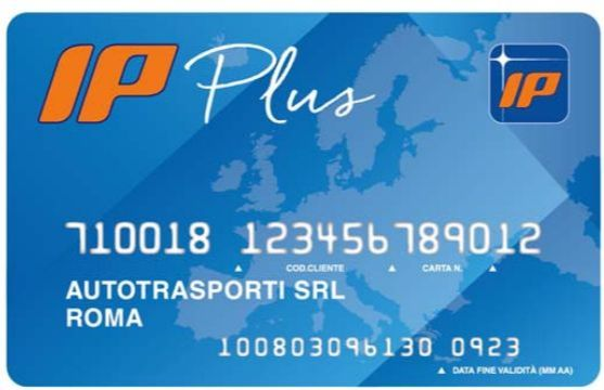 Carta carburante IP Plus