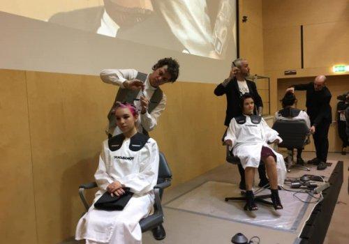 Hairstyling show di Cna Trentino con gli stilisti di Tony & Guy