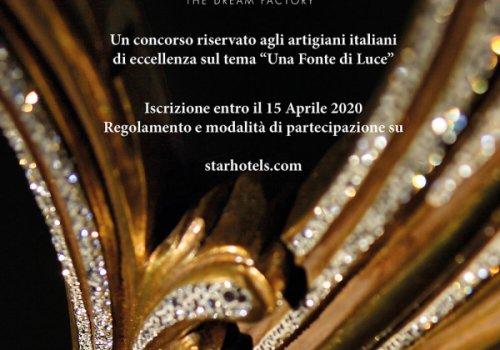 Premio Starhotels per gli artigiani artistici. Ecco come partecipare