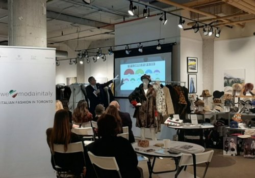 CNA Federmoda. La moda italiana in passerella in Canada