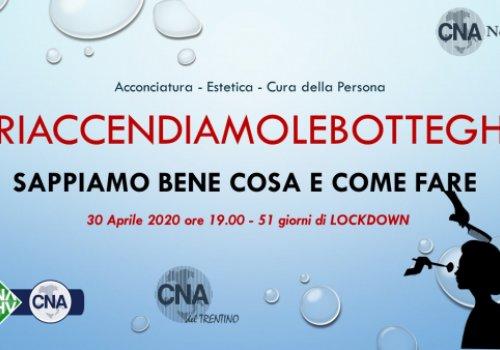 Parrucchieri, estetisti e aziende di cura della persona: domani 30 aprile flash mob in Alto Adige per chiedere la riapertura