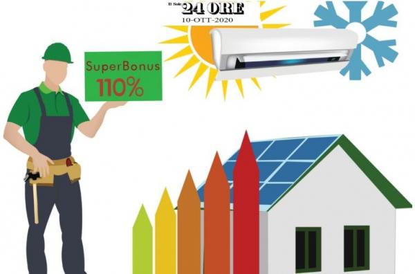 Su Il Sole 24 Ore l'indagine CNA sul Superbonus 110%