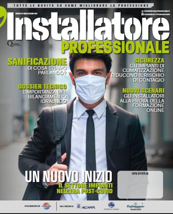 """CNA Installazione Impianti, pubblicata la rivista """"L'installatore professionale"""" n. 3-4/2020"""